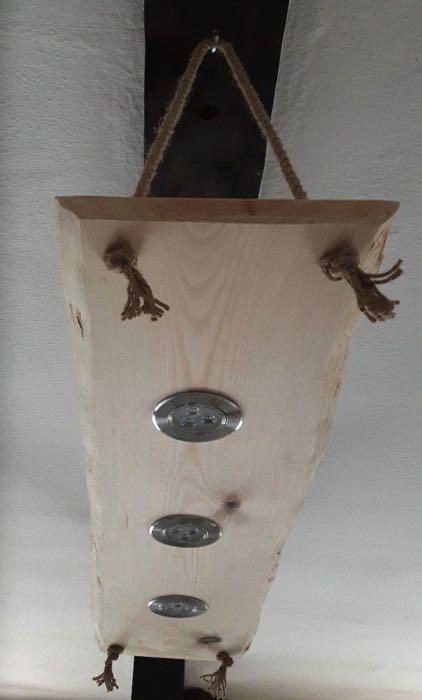 Rustikale wandlampe wildeiche holzwelt leipzig - Rustikale wandlampe ...